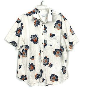 Old Navy Short Sleeve Button Down Hawaiian Shirt
